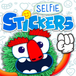 selfie-sticker